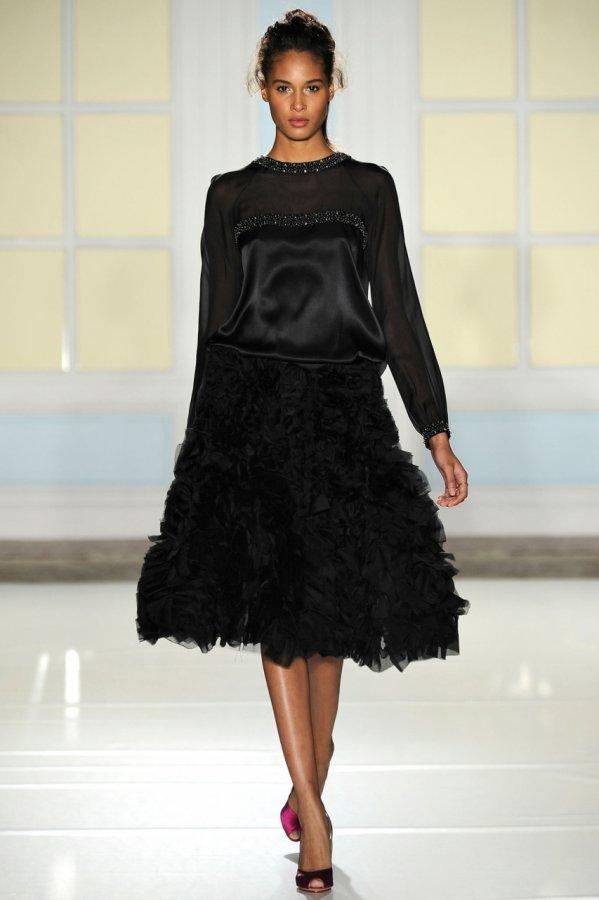 Модное черное платье 2014, фото