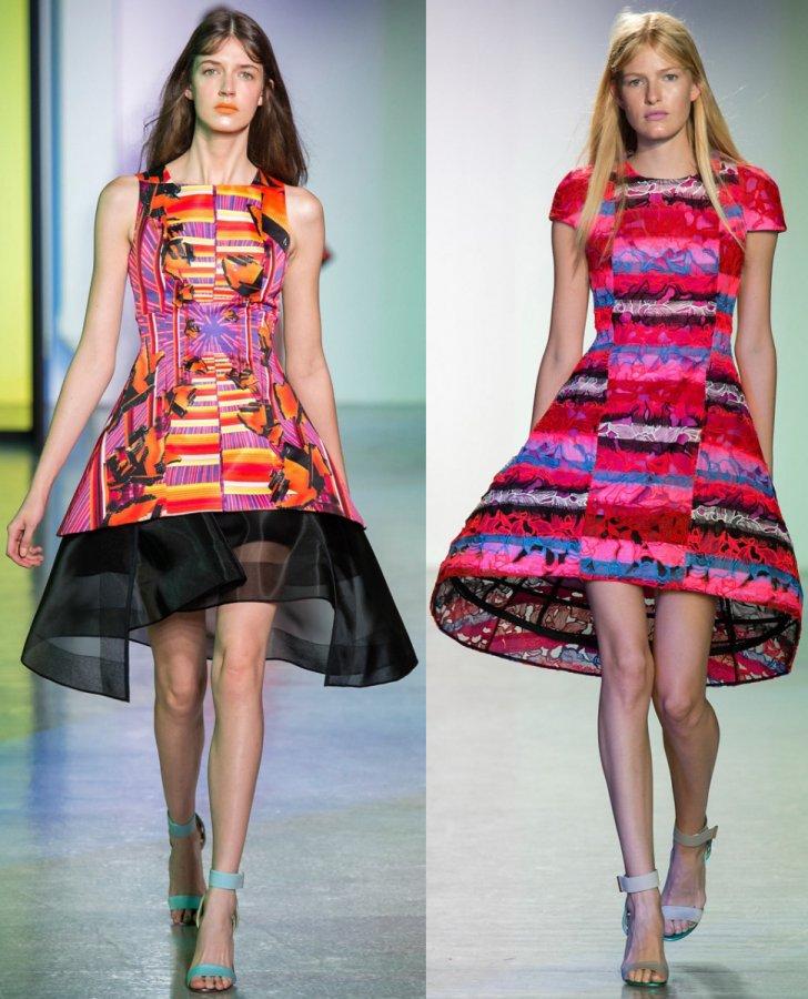 Короткие нарядные платья 2014