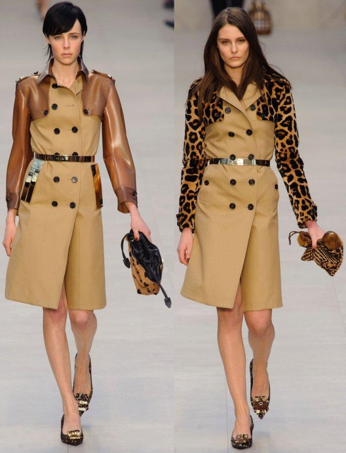 Одежда из коллекции Burberry