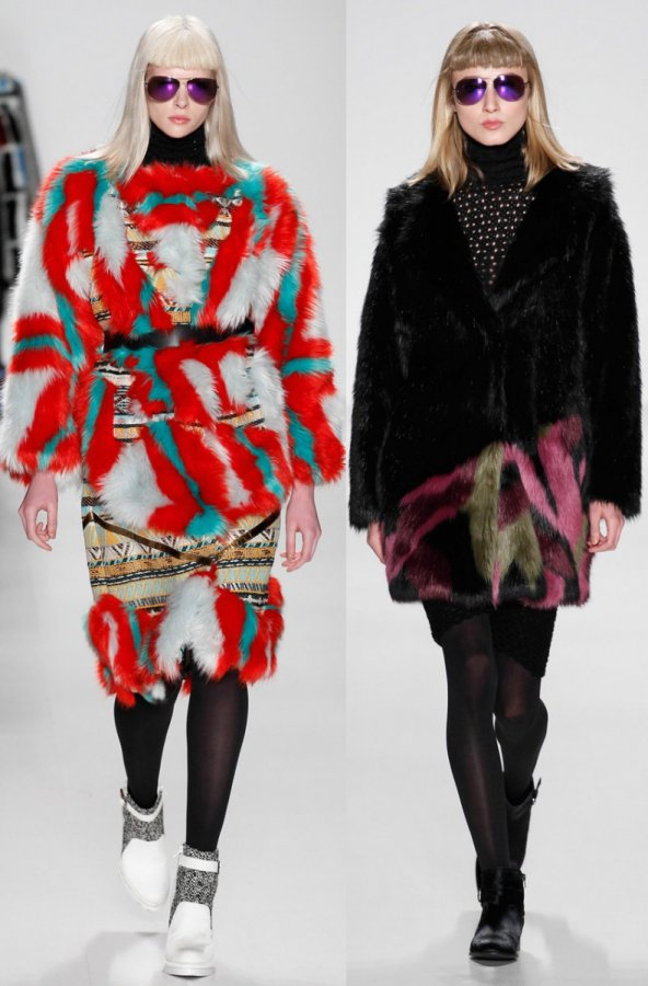 Модные женские шубы осень-зима 2014-2015