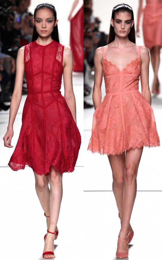 Кружевные платья 2014 – фото
