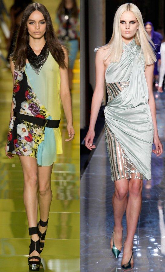 Летние платья от Versace