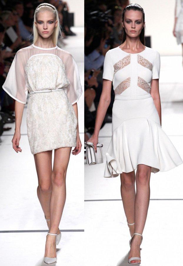 Белые летние платья 2014