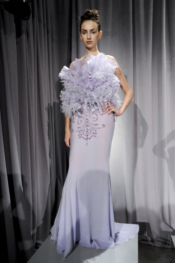 Платье бренда Marchesa