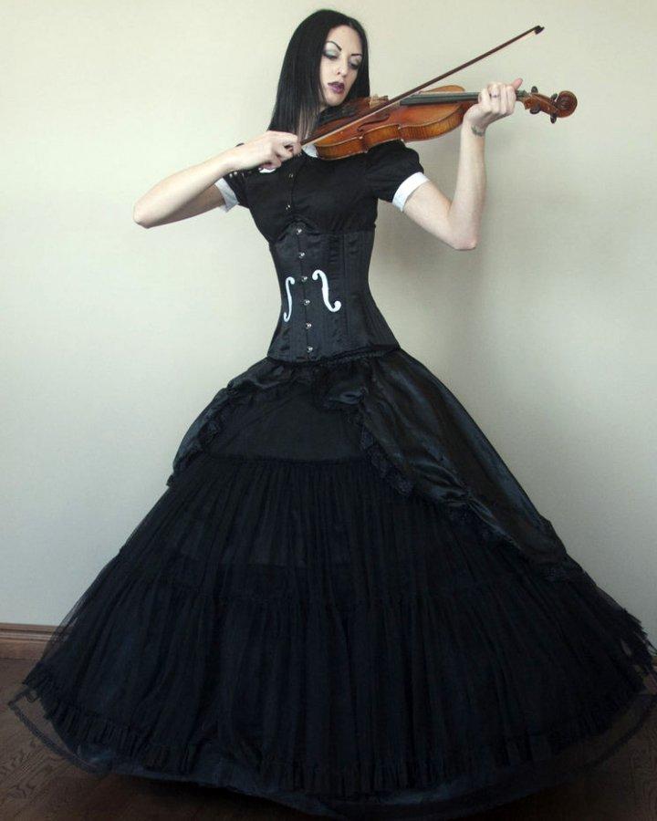 Фото готической девушки