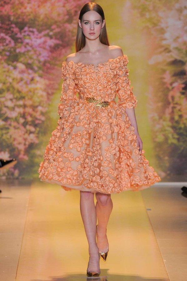 Красивое платье Zuhair Murad 2014
