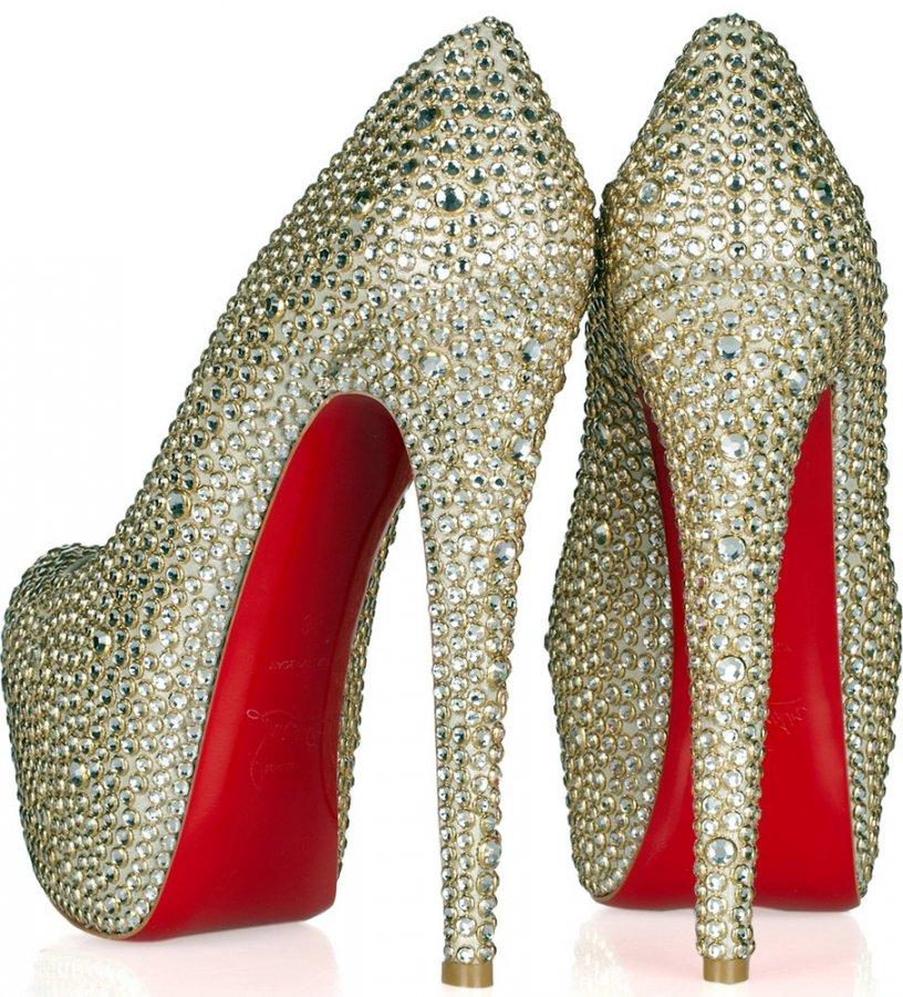 Туфли на красной подошве