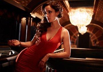 Красные платья 2014