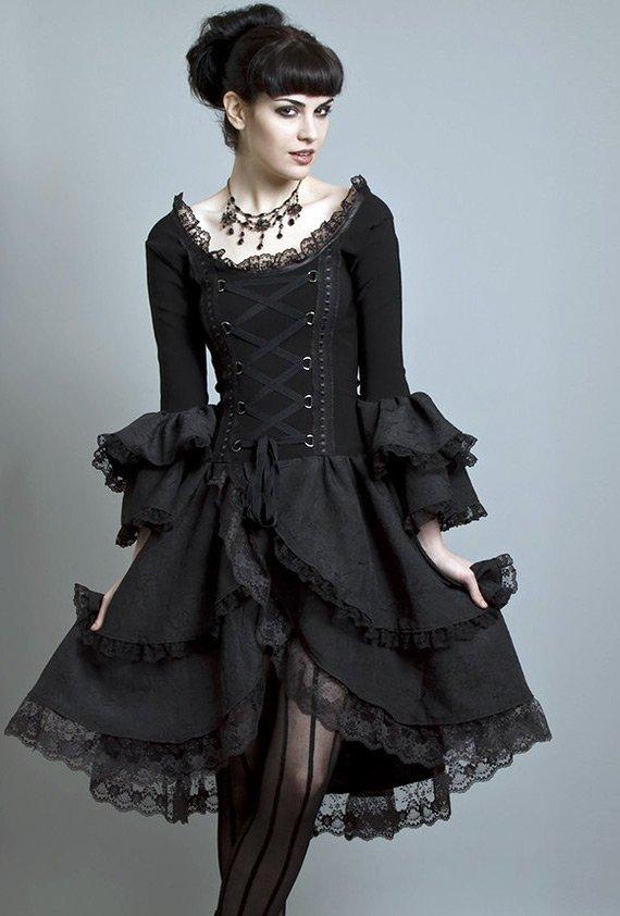 Платье в готическом стиле фото
