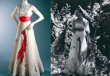 Платье с омаром