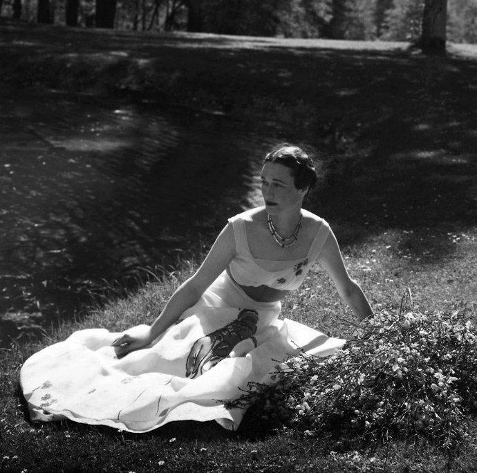 Платье с омаром от Эльзы Скиапарелли
