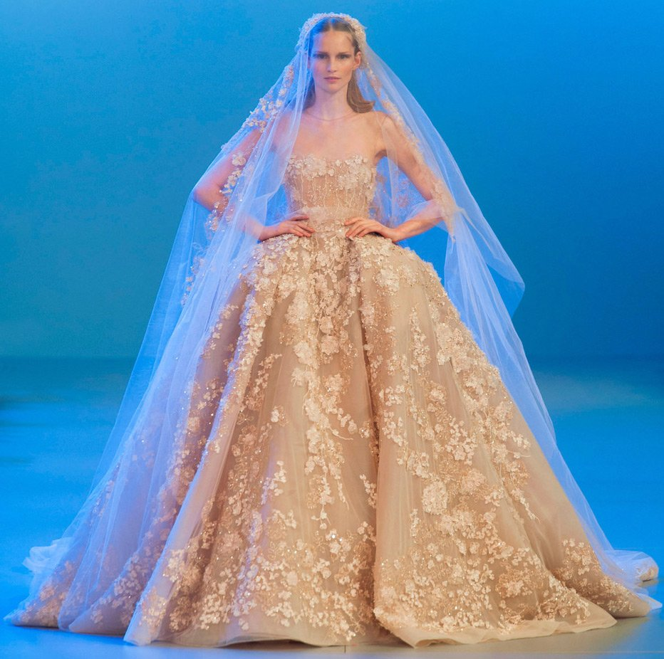 Свадебные платья Эли Сааб новые фото