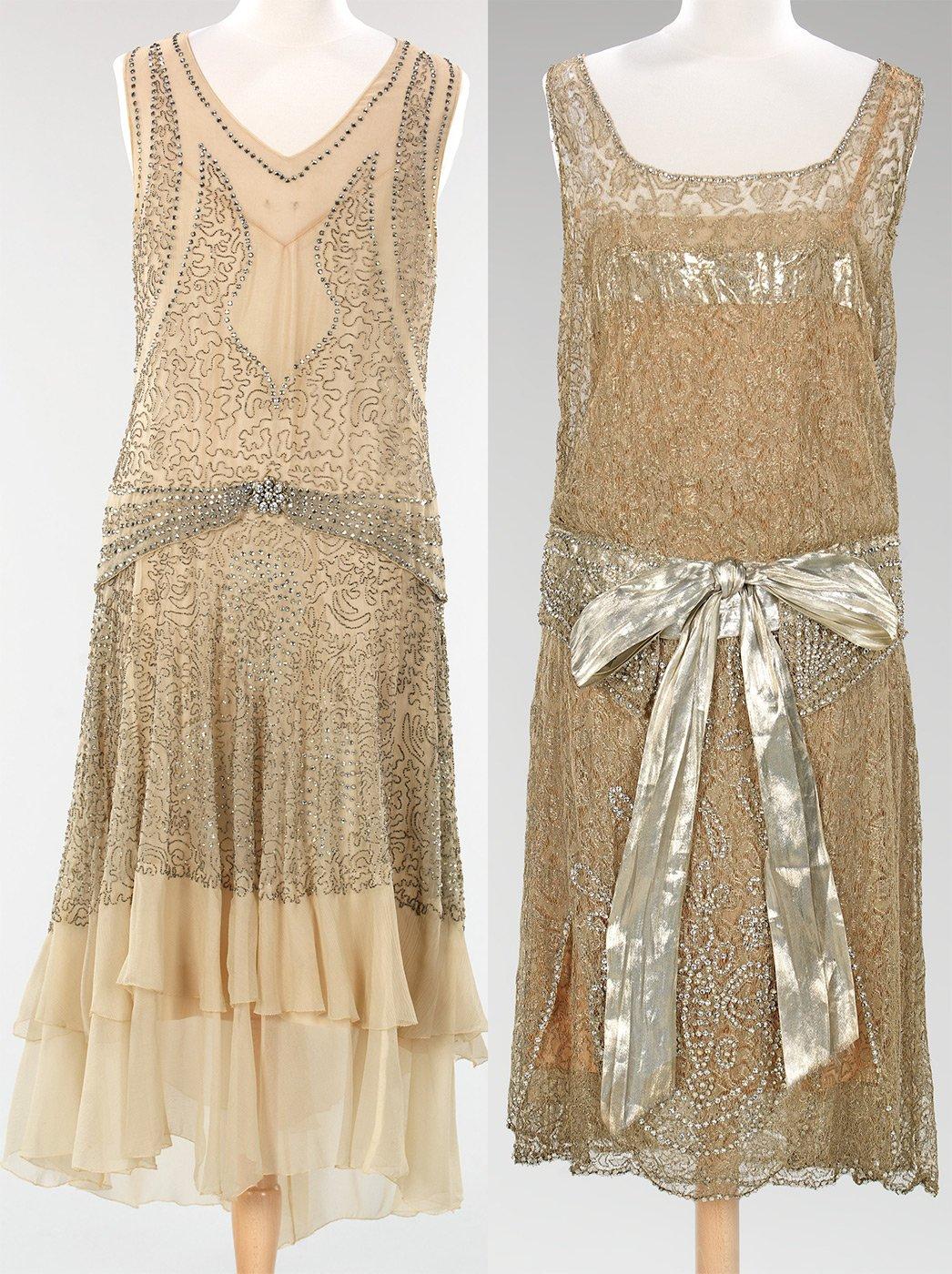 Платья 20 годов вечерние
