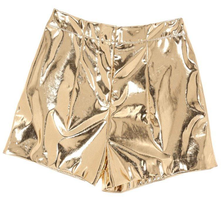 Золотистые шорты 2014, фото