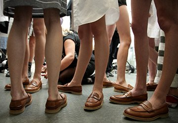 История обуви - лоферы