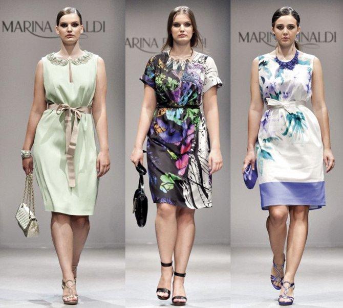 Модные платья Marina Rinaldi