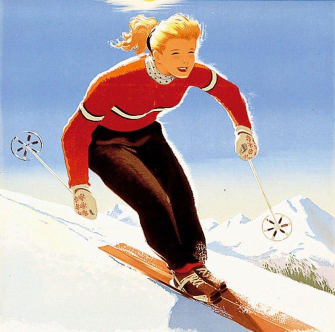 Защита кожи во время отдыха на горнолыжных курортах