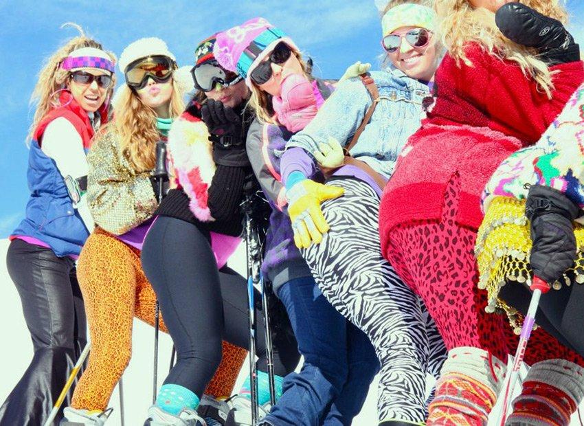 Отдых на горнолыжных курортах для девушек