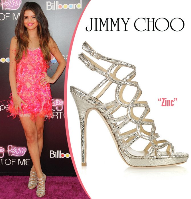 Селена Гомез в обуви Jimmy Choo