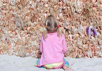 3000 Барби на пляже