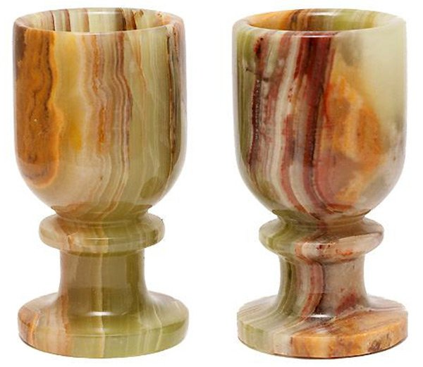 Чаши из камня оникс