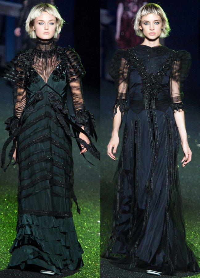 Платья в готическом стиле от Marc Jacobs