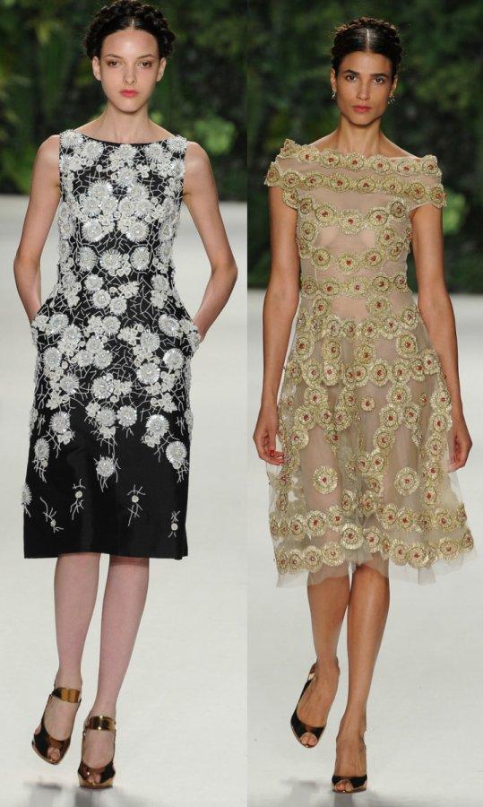 Праздничные платья весна-лето 2014