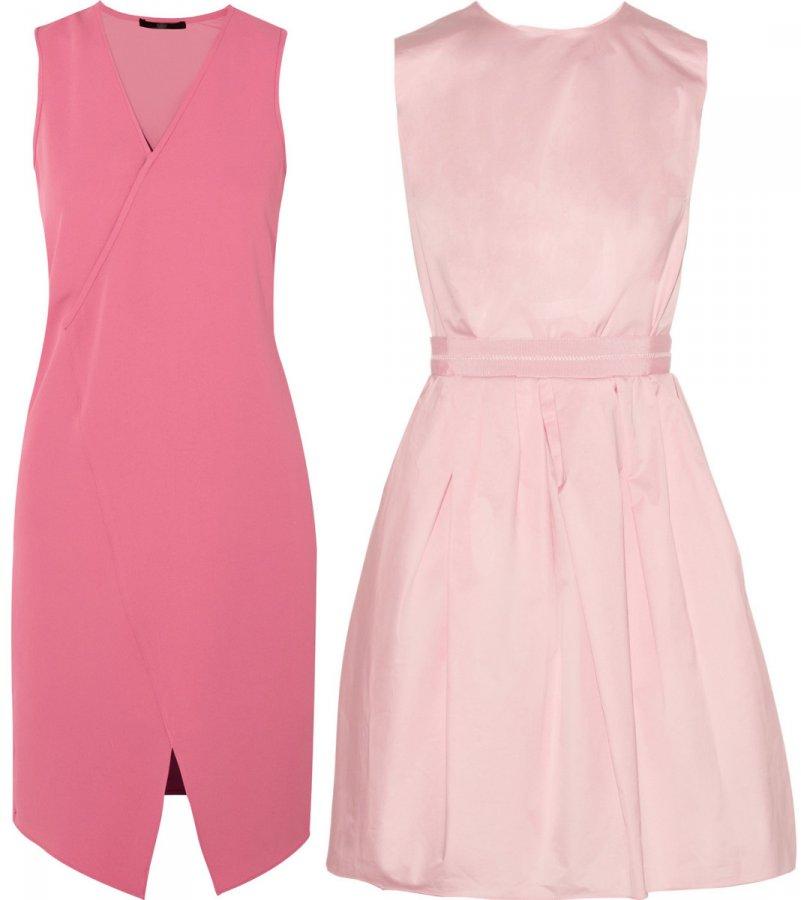 Розовые платья 2014