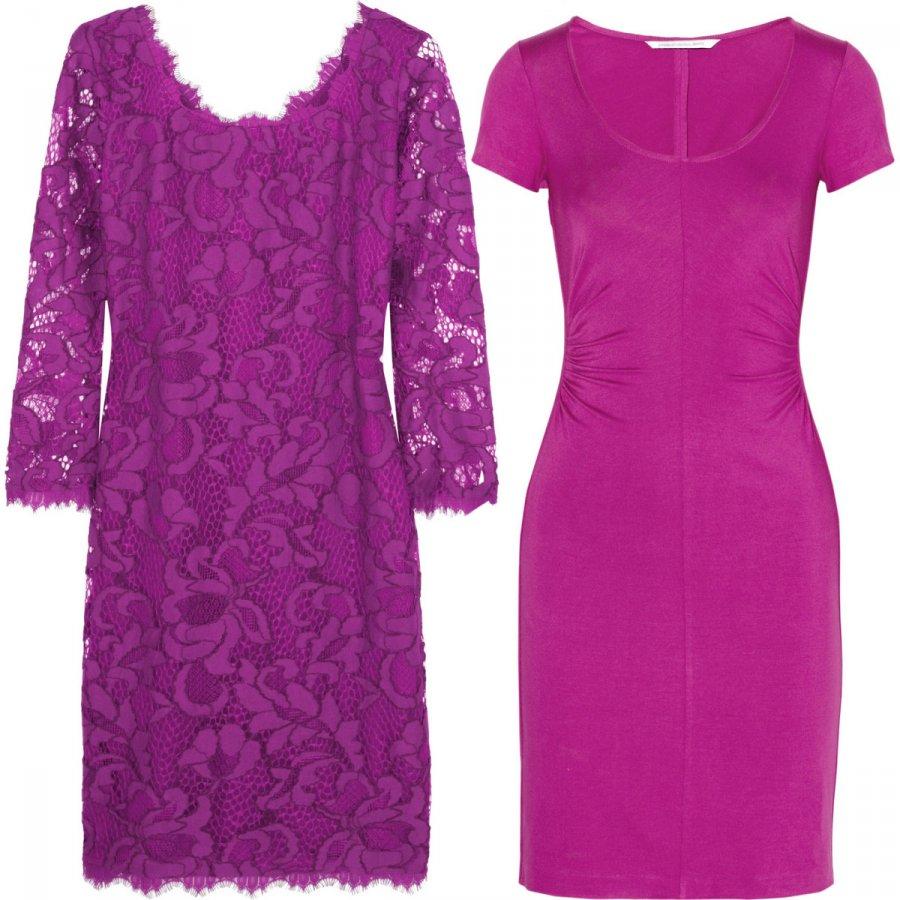 фиолетовые платья 2014