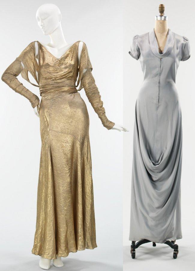 платья 30х годов, фото