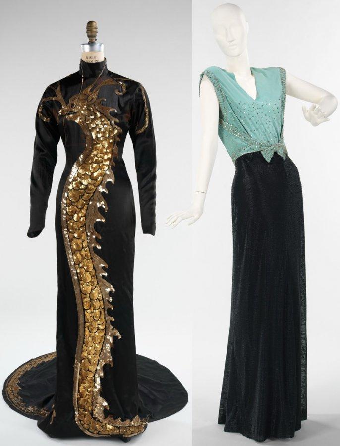 Красивые платья 30х годов