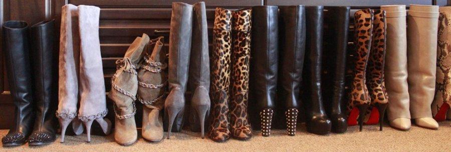 коллекционирование модной обуви