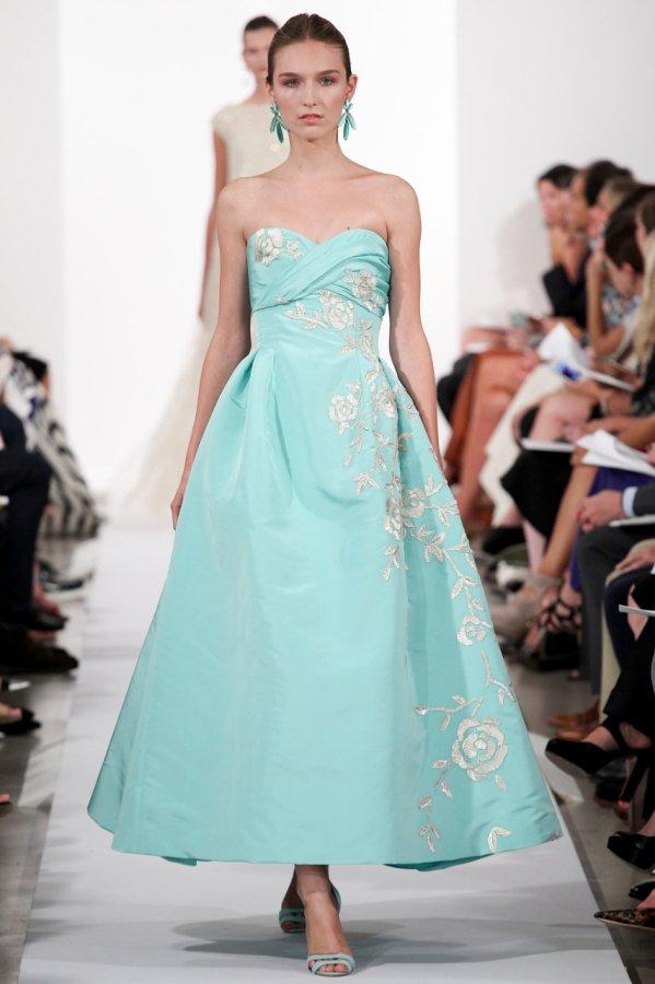 Бальное платье Oscar de la Renta