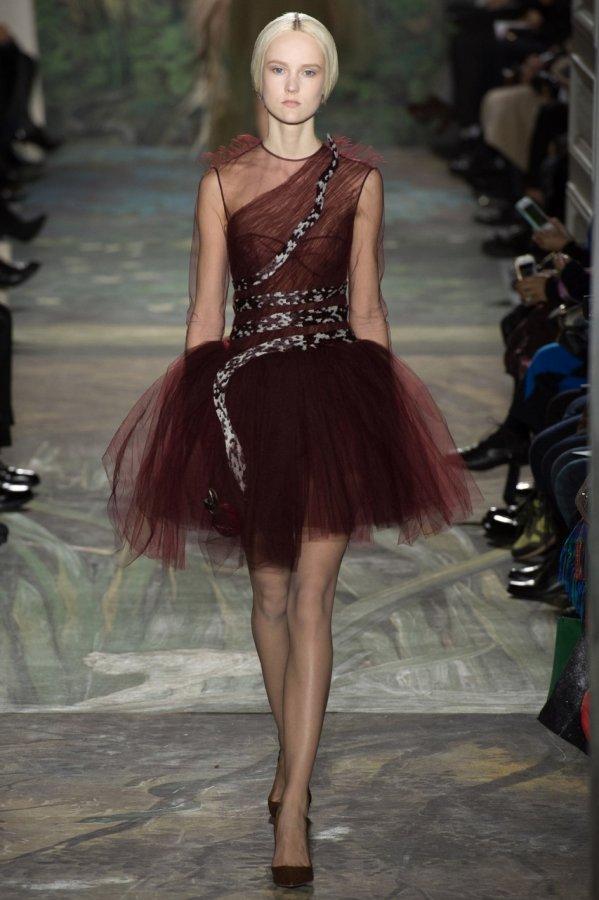 Короткое бальное платье Valentino