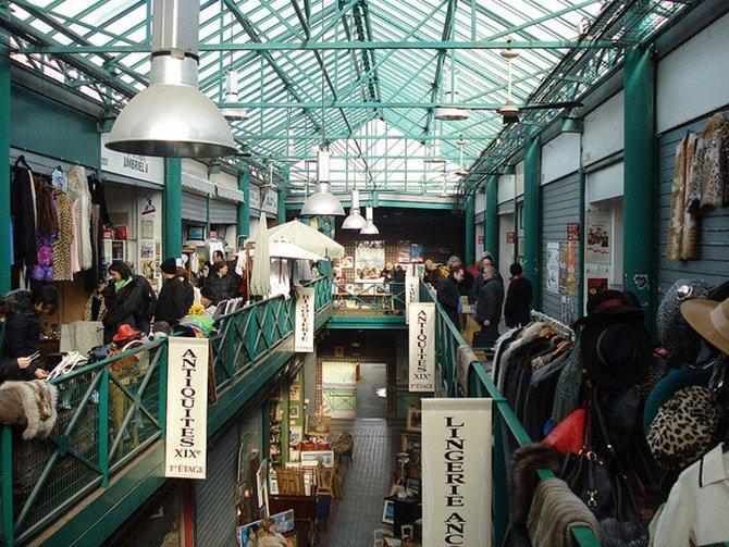Блошиный рынок Парижа