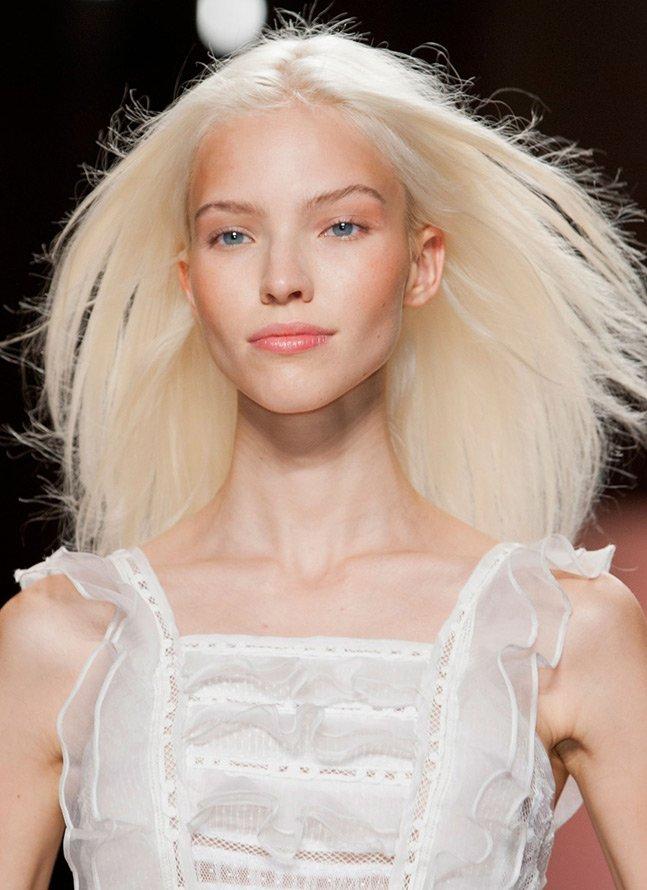 Платиновая блондинка цвет