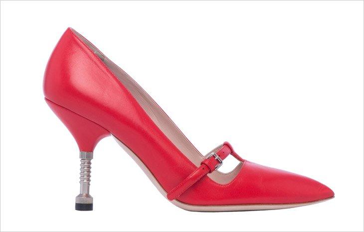 Необычная обувь Miu Miu на осень 2014