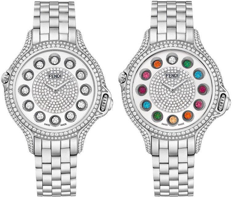 женские часы Crazy Carats от Fendi