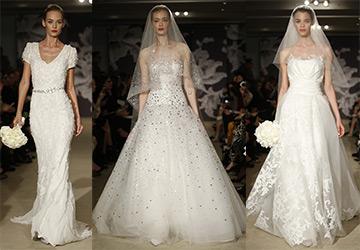 Carolina Herrera – коллекция свадебных платьев