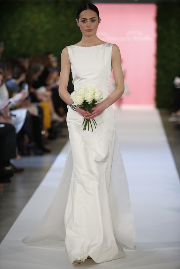 Свадебные платья от оскара де ла ренты