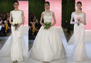 Свадебные платья 2015 от Oscar de la Renta