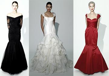Свадебные платья на осень 2014