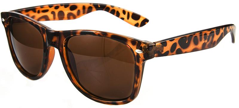 Очки Wayfarer - путник в леопардовой оправе