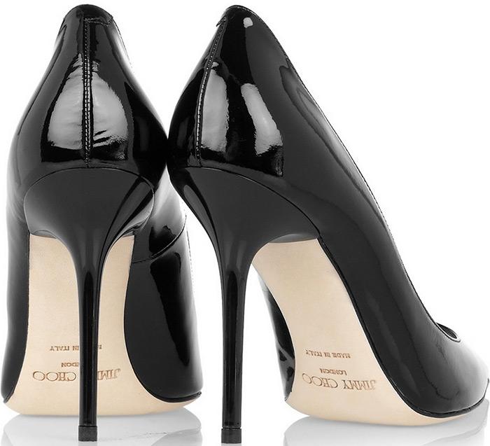 Чёрные туфли-лодочки