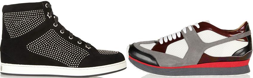 Модные женские кроссовки и кеды