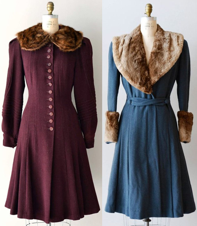 Пальто 1930-х годов