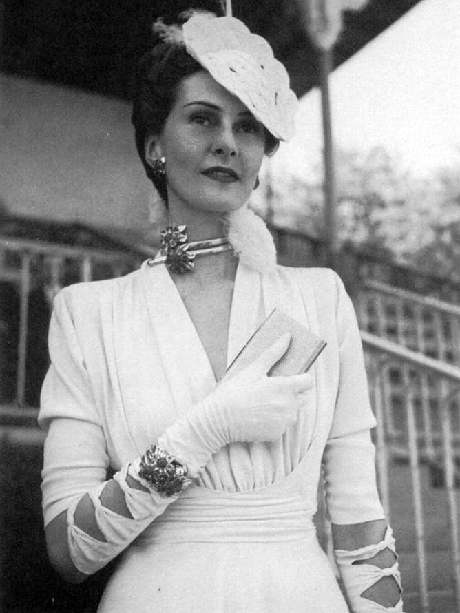 Женские платья 1930 годов