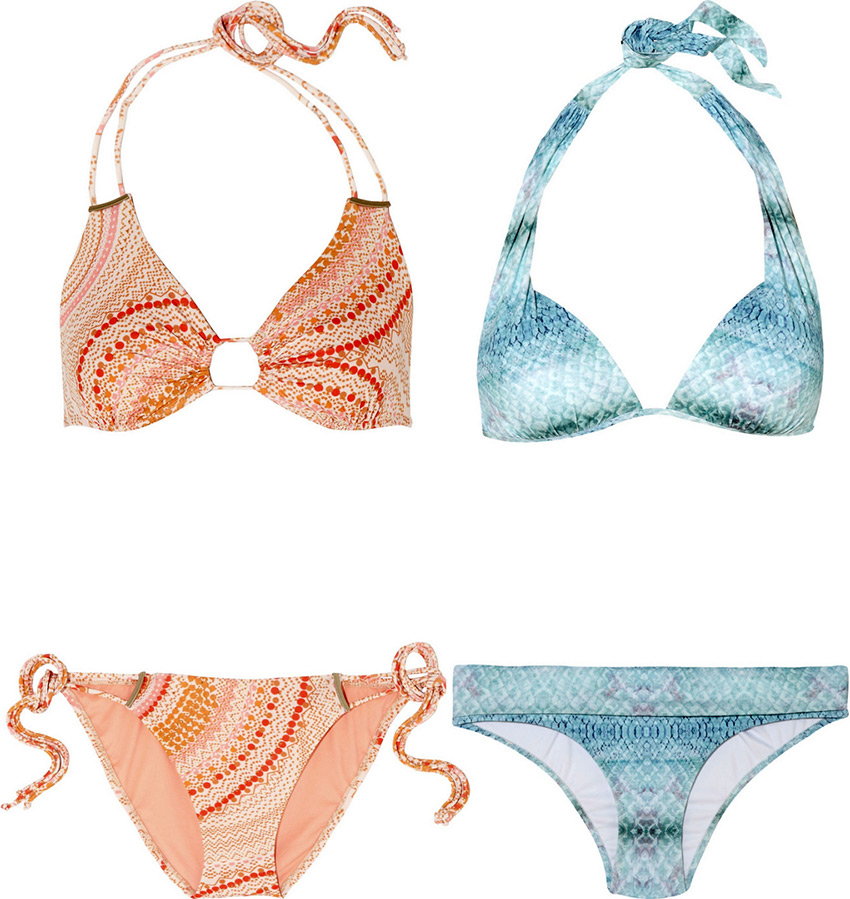 Пляжная мода весна-лето 2014