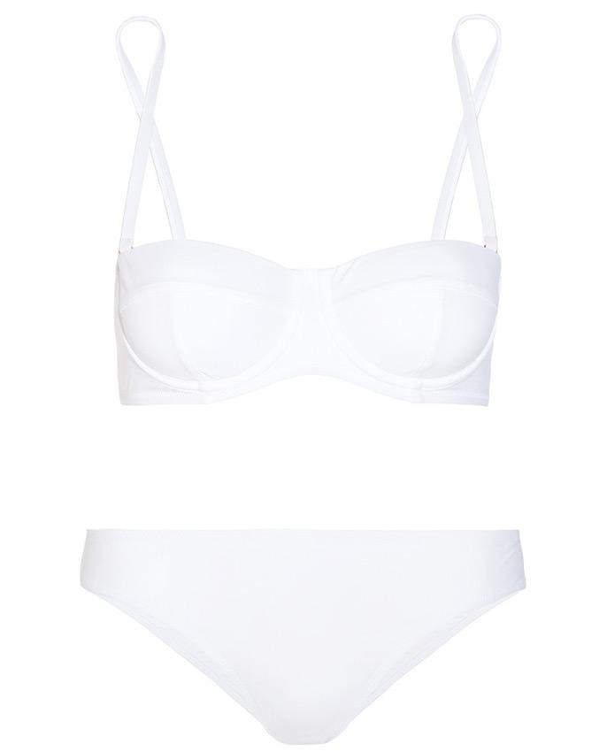 Белый купальник Dolce & Gabbana