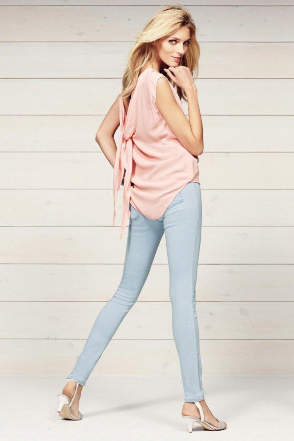 Аня Рубик для Next & Next Jeans 2014